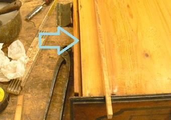 Cassettone metà 1700 con ebanizzature area lombarda. riparazioni ed integrazioni ai fondi dei cassetti.
