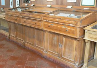 Museo Gaetano Donizetti, arredi espositivi. Prima del restauro