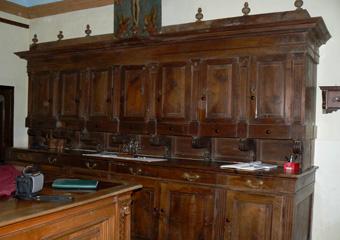 Parrocchia B.V. Annunziata in Ascensione di Costa Serina BG. Prima del restauro